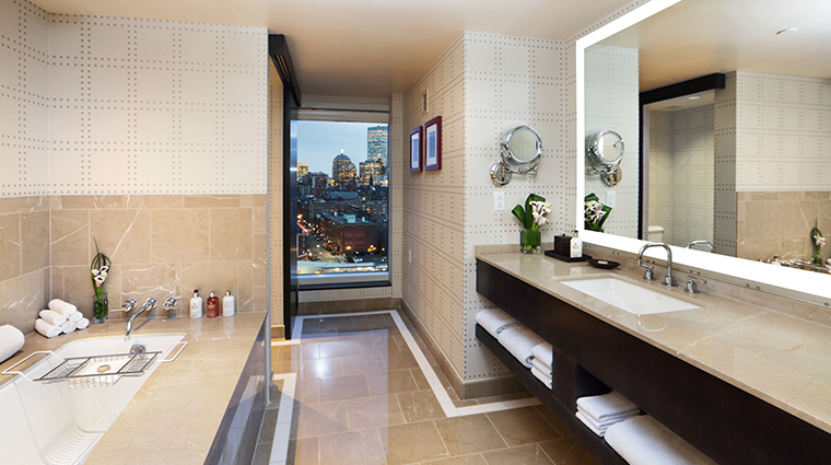 the liberty hotel a luxury collection hotel charles river suite bathroom