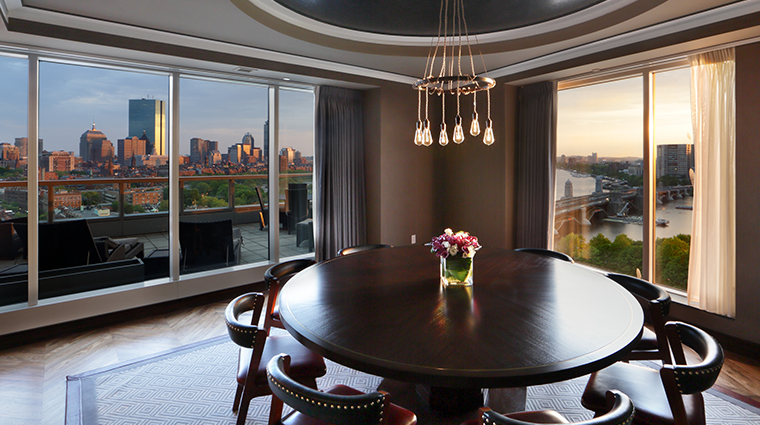 the liberty hotel a luxury collection hotel ebersol dining room