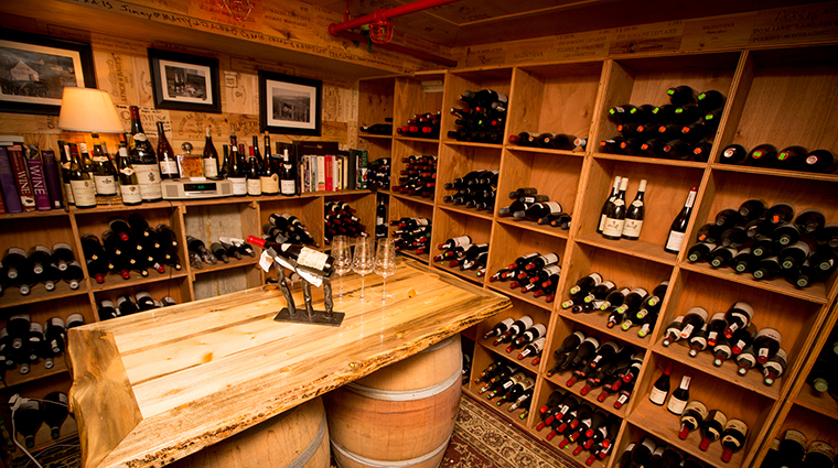 the little nell wine cellar