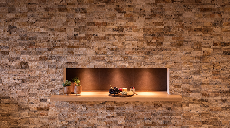 the lodge at blue sky auberge resorts collection earth suite stone wall