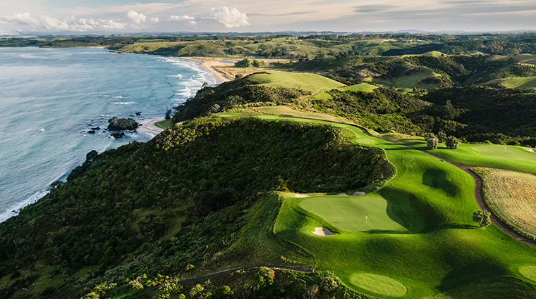 the lodge at kauri cliffs golf