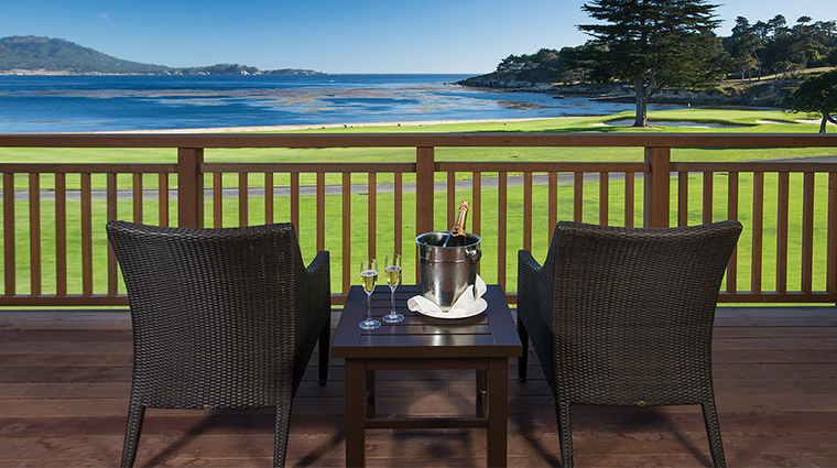 the lodge at pebble beach alvarado deck