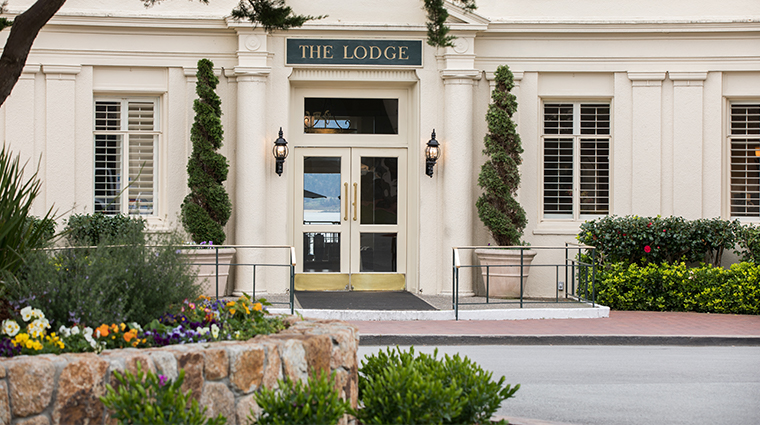 the lodge at pebble beach exterior
