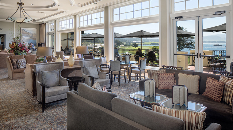 the lodge at pebble beach the terrace lounge