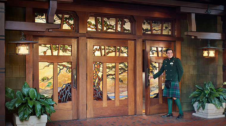 the lodge at torrey pines lodge entrance