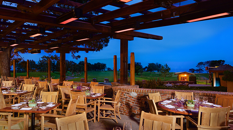 the lodge at torrey pines the grill patio