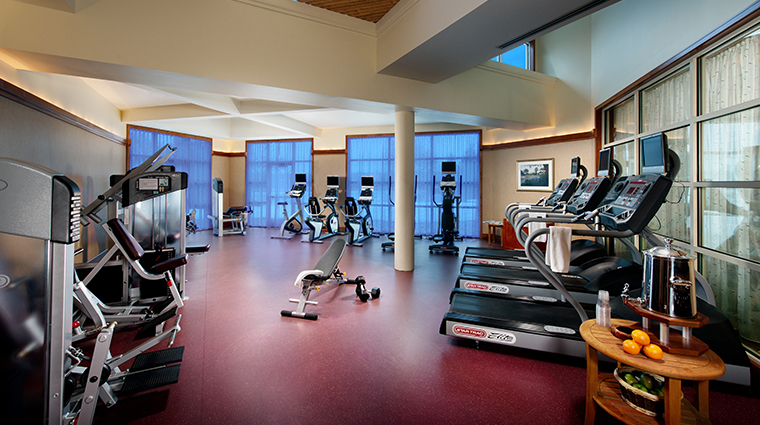 the lodge at turning stone resort casino gym