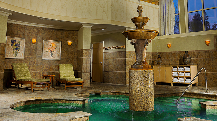 the lodge at turning stone resort casino mineral pool