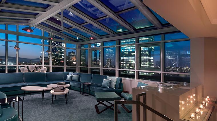 the london nyc atrium