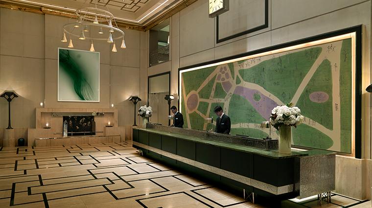 the london nyc lobby