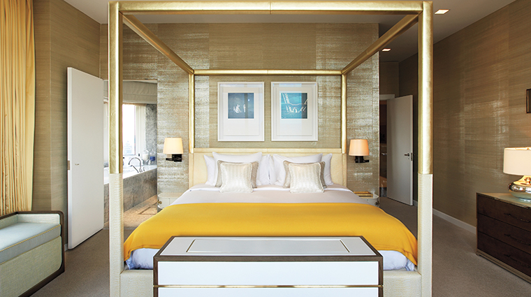 the london nyc penthouse bedroom