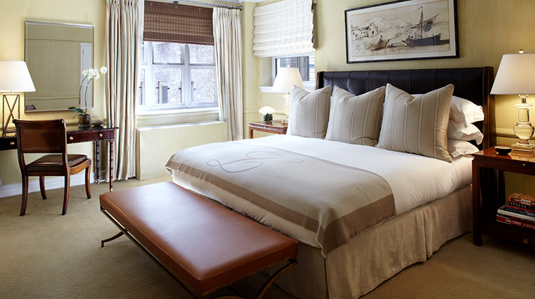 The Lowell suite bedroom