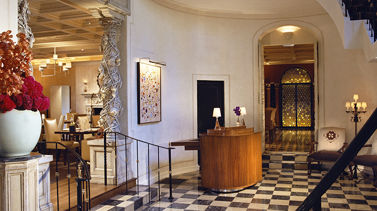 the mansion restaurant foyer
