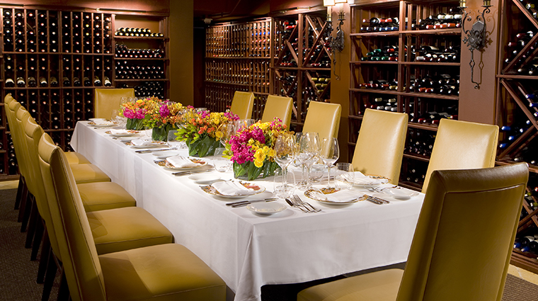 the mansion restaurant wine cellar