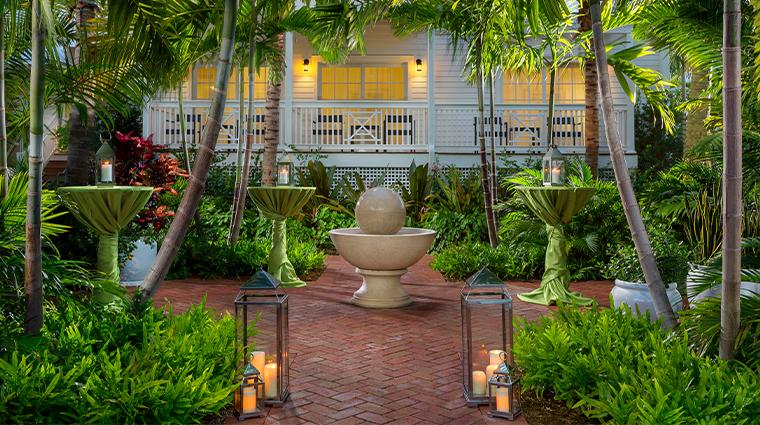 the marker waterfront resort garden reception