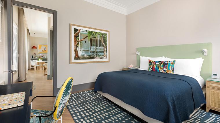 the marker waterfront resort suite bedroom