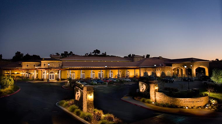 the meritage resort and spa night