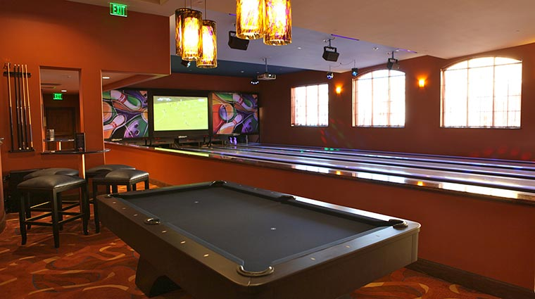 the meritage resort and spa pool tables