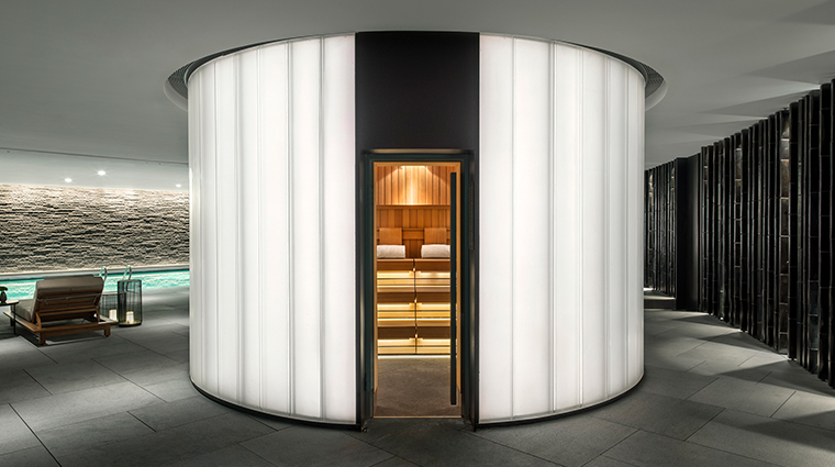 the middle house spa steam room
