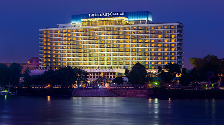 the nile ritz carlton cairo exterior