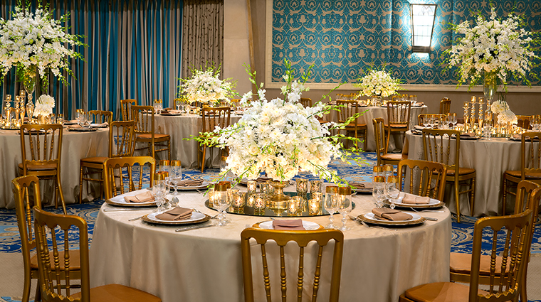 the nile ritz carlton cairo wedding setup
