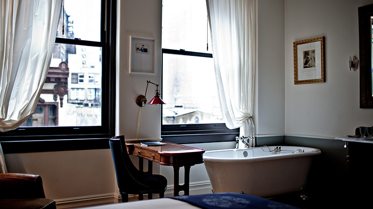 The NoMad desk tub