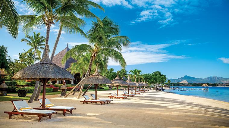 the oberoi beach resort mauritius beach