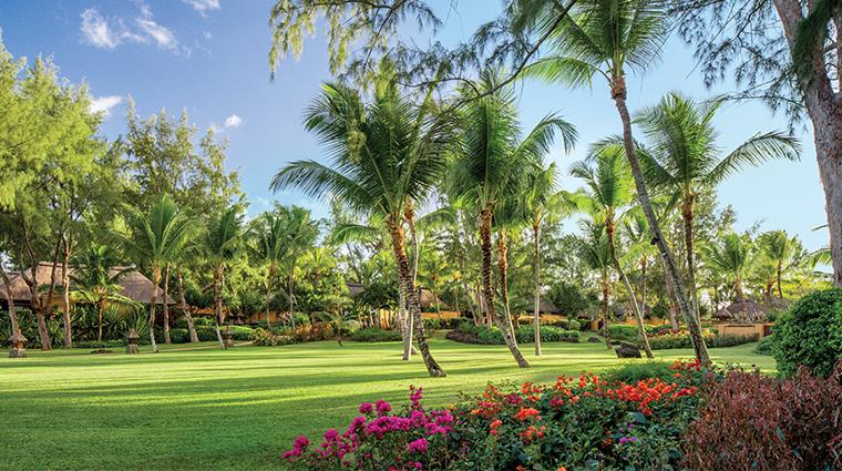 the oberoi beach resort mauritius garden