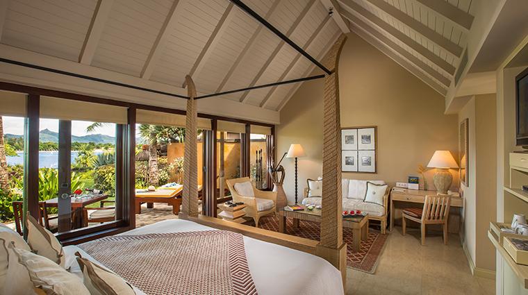 the oberoi beach resort mauritius luxury pavillion