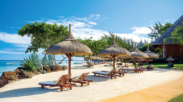 the oberoi beach resort mauritius main beach