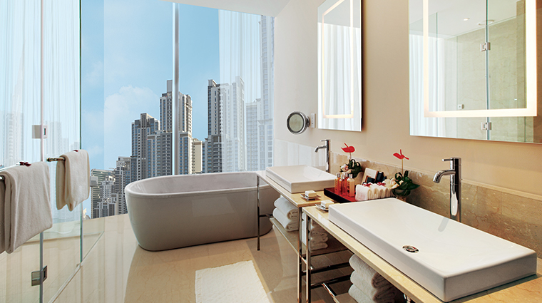 the oberoi dubai presidential bathroom