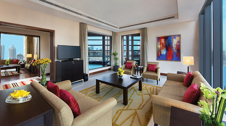 the oberoi dubai presidential living room