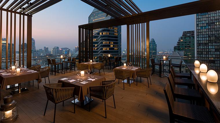 the okura prestige bangkok elements terrace