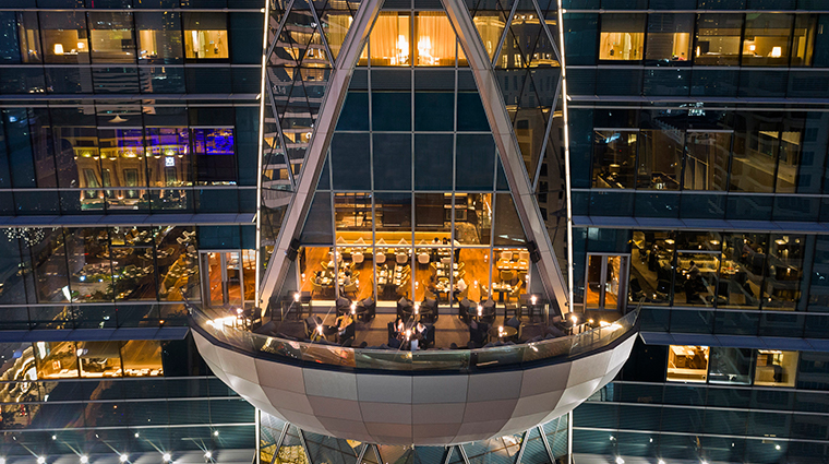 the okura prestige bangkok up and above bar terrace