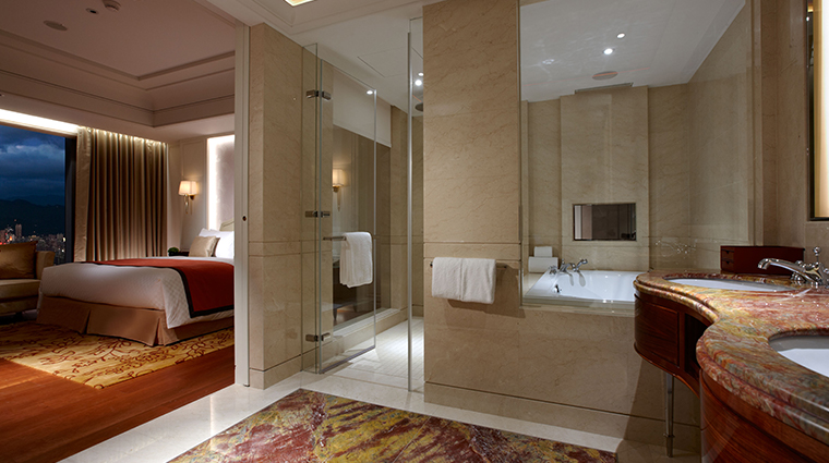the okura prestige taipei bathtub room
