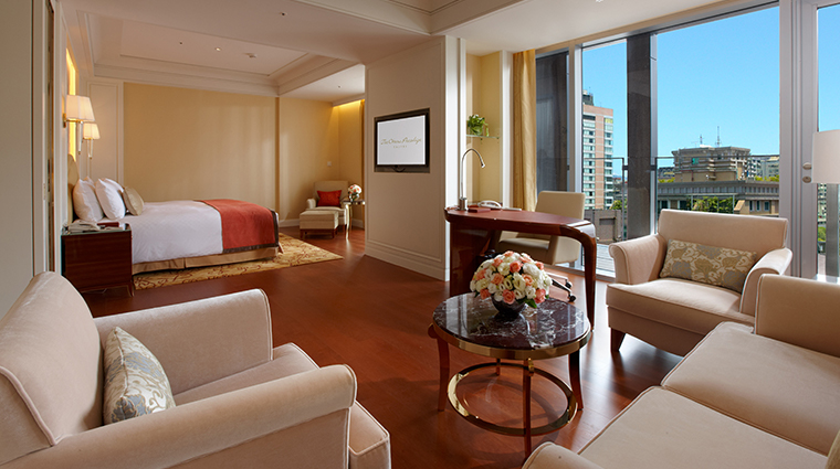 the okura prestige taipei bedroom