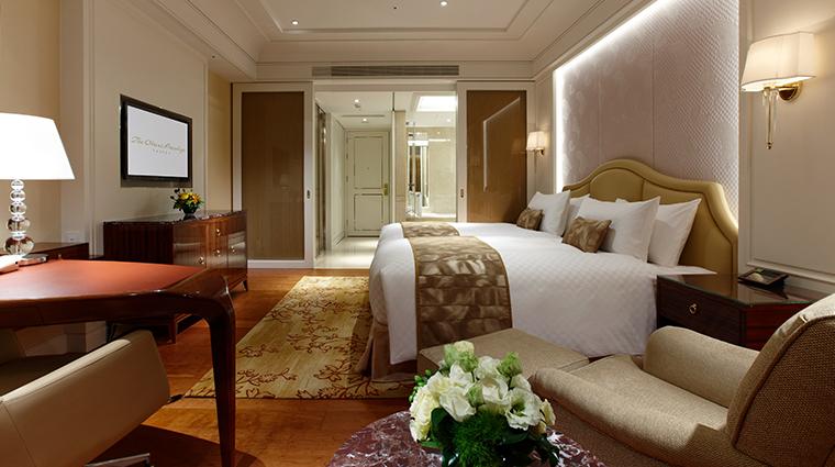 the okura prestige taipei full bedroom view