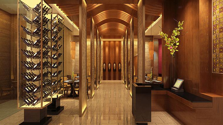 the okura prestige taipei restaurant entrance