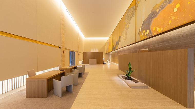 the okura tokyo lobby heritage wing