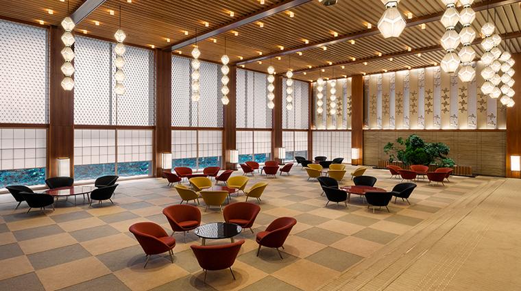 the okura tokyo lobby prestige tower