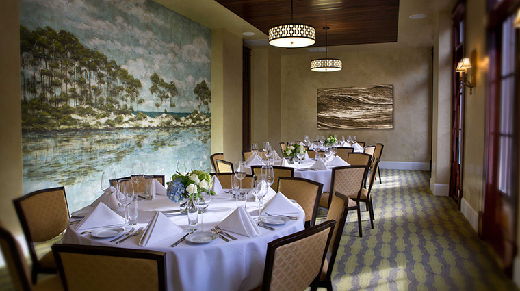 the pearl hotel private dining