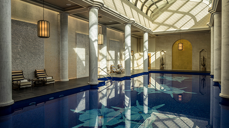 the pearl spa at four seasons resort dubai at jumeirah beach indoor pool