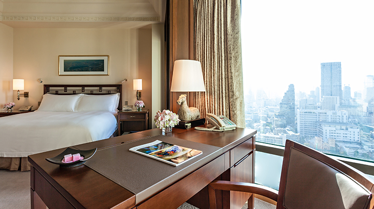 the peninsula bangkok deluxe room