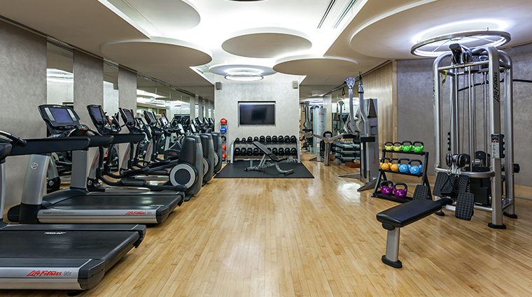 the peninsula bangkok fitness center