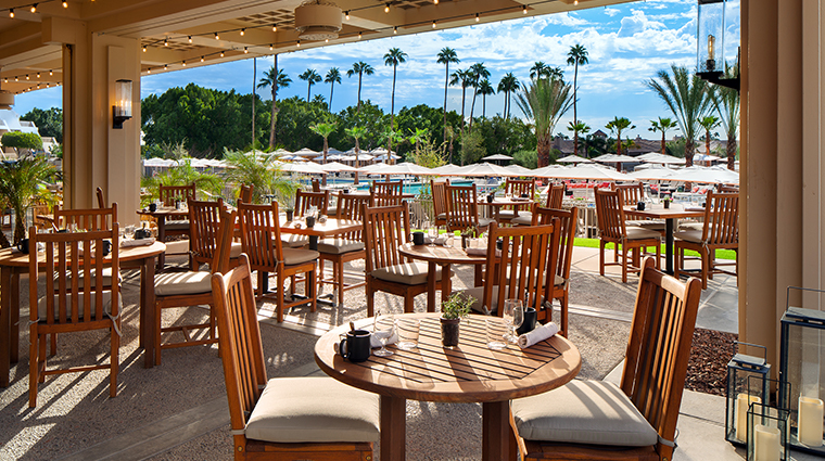 the phoenician a luxury collection resort Mowry and Cotton Patio
