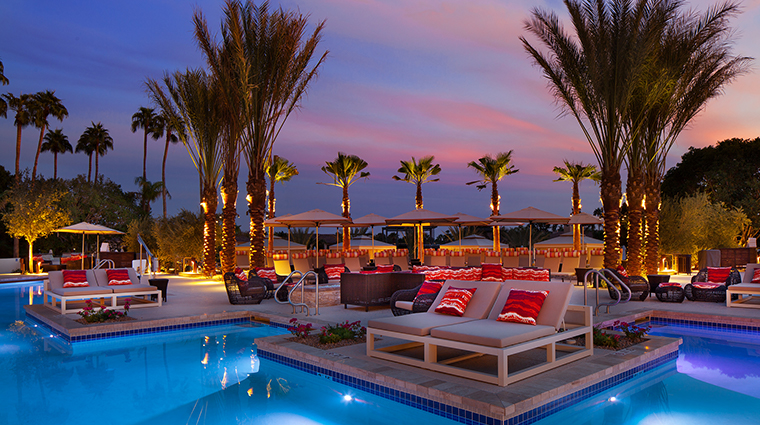 the phoenician a luxury collection resort VIP pool