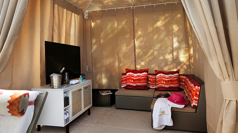 the phoenician a luxury collection resort cabana