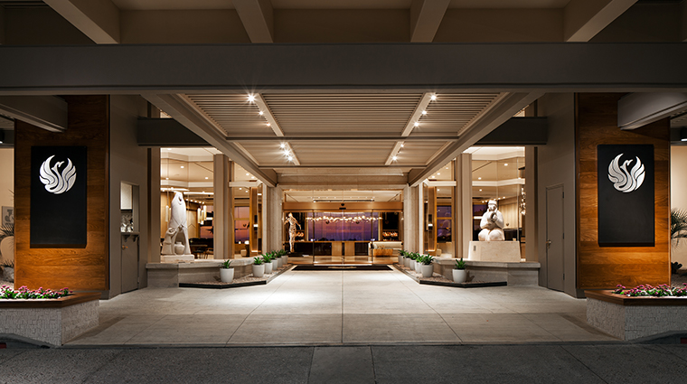 the phoenician a luxury collection resort entrance