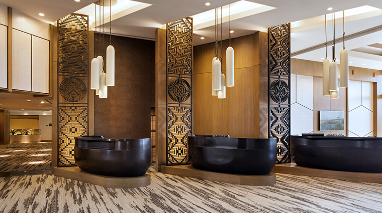 the phoenician a luxury collection resort lobby