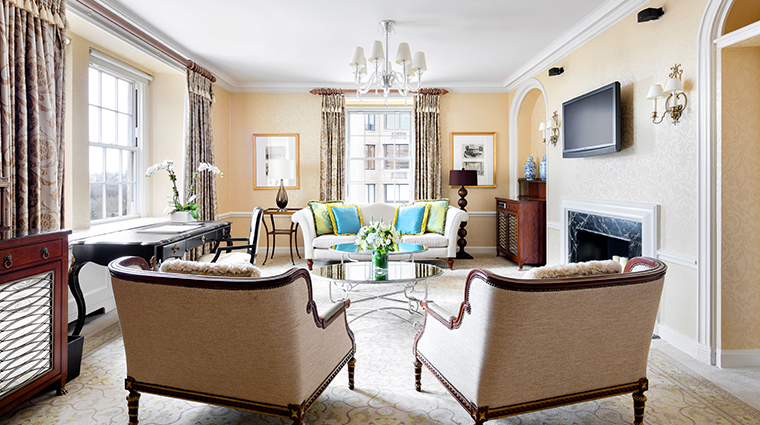 the pierre a taj hotel new york hutton suite living room